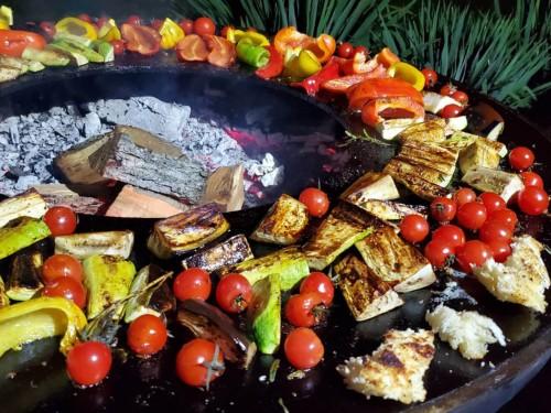 Овочі на мангалі
