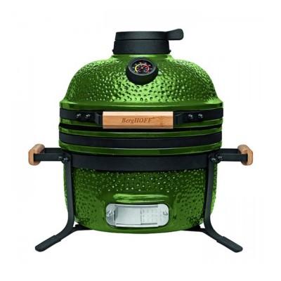 Угольный керамический гриль-печь BergHOFF MEDIUM, зеленый